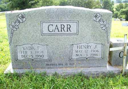 CARR, VADA F. - Benton County, Arkansas | VADA F. CARR - Arkansas Gravestone Photos
