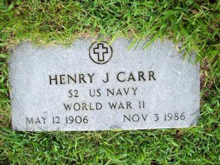 CARR (VETERAN WWII), HENRY J. - Benton County, Arkansas | HENRY J. CARR (VETERAN WWII) - Arkansas Gravestone Photos