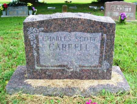 CARRELL, CHARLES SCOTT - Benton County, Arkansas | CHARLES SCOTT CARRELL - Arkansas Gravestone Photos