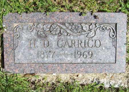 CARRICO, H. D. - Benton County, Arkansas | H. D. CARRICO - Arkansas Gravestone Photos