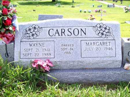 CARSON, WAYNE - Benton County, Arkansas | WAYNE CARSON - Arkansas Gravestone Photos
