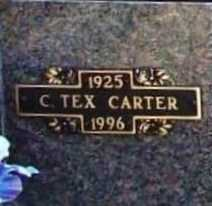 CARTER, CLARENCE TEX - Benton County, Arkansas | CLARENCE TEX CARTER - Arkansas Gravestone Photos