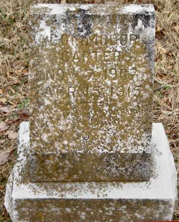 CARTER, COMMODOR - Benton County, Arkansas | COMMODOR CARTER - Arkansas Gravestone Photos
