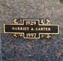 CARTER, HARRIET A. - Benton County, Arkansas | HARRIET A. CARTER - Arkansas Gravestone Photos