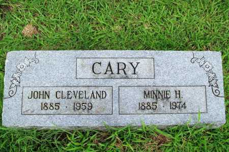 CARY, MINNIE H. - Benton County, Arkansas | MINNIE H. CARY - Arkansas Gravestone Photos