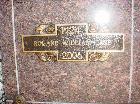 CASE, ROLAND WILLIAM - Benton County, Arkansas | ROLAND WILLIAM CASE - Arkansas Gravestone Photos