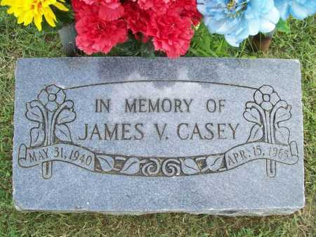 CASEY, JAMES V. - Benton County, Arkansas | JAMES V. CASEY - Arkansas Gravestone Photos