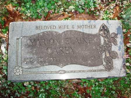 CASEY, MARION ELAINE - Benton County, Arkansas | MARION ELAINE CASEY - Arkansas Gravestone Photos