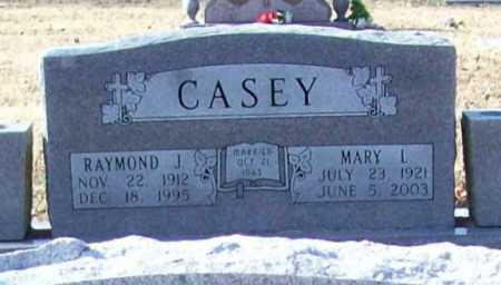 CASEY, MARY L. - Benton County, Arkansas | MARY L. CASEY - Arkansas Gravestone Photos
