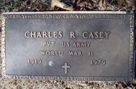 CASEY (VETERAN WWII), CHARLES ROBERT SR - Benton County, Arkansas | CHARLES ROBERT SR CASEY (VETERAN WWII) - Arkansas Gravestone Photos