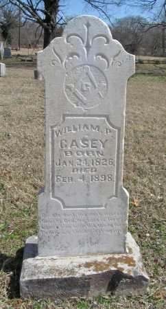CASEY, WILLIAM P. - Benton County, Arkansas | WILLIAM P. CASEY - Arkansas Gravestone Photos