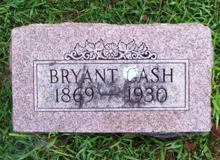 CASH, BRYANT MARVIN - Benton County, Arkansas | BRYANT MARVIN CASH - Arkansas Gravestone Photos