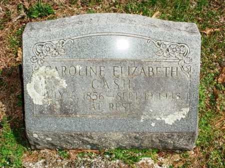 CASH, CAROLINE ELIZABETH - Benton County, Arkansas | CAROLINE ELIZABETH CASH - Arkansas Gravestone Photos