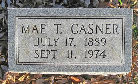 CASNER, MAE T - Benton County, Arkansas | MAE T CASNER - Arkansas Gravestone Photos
