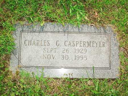 CASPERMEYER, CHARLES G. - Benton County, Arkansas | CHARLES G. CASPERMEYER - Arkansas Gravestone Photos