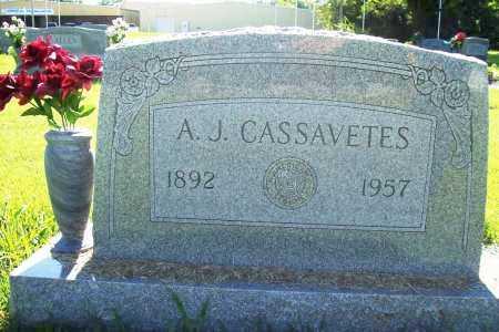 CASSAVETES, A. J. - Benton County, Arkansas | A. J. CASSAVETES - Arkansas Gravestone Photos