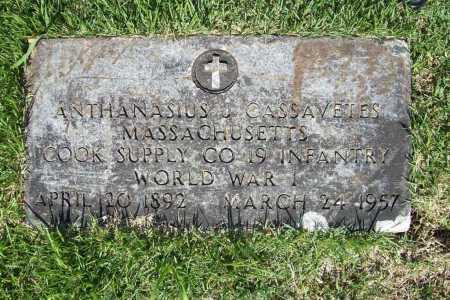 CASSAVETES (VETERAN WWI), ANTHANASIUS J. - Benton County, Arkansas | ANTHANASIUS J. CASSAVETES (VETERAN WWI) - Arkansas Gravestone Photos