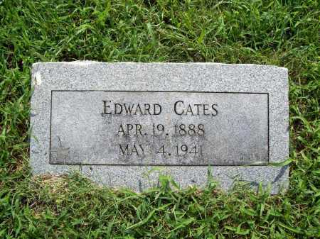 CATES, EDWARD - Benton County, Arkansas | EDWARD CATES - Arkansas Gravestone Photos