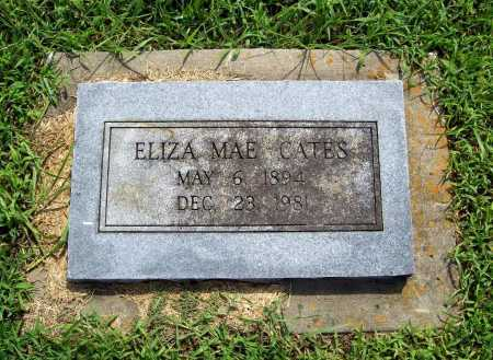CATES, ELIZA MAE - Benton County, Arkansas | ELIZA MAE CATES - Arkansas Gravestone Photos