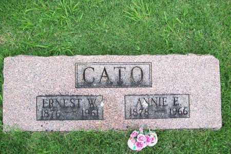 CATO, ANNIE E. - Benton County, Arkansas | ANNIE E. CATO - Arkansas Gravestone Photos
