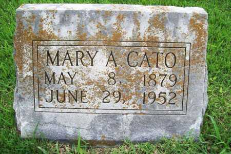 CATO, MARY A. - Benton County, Arkansas | MARY A. CATO - Arkansas Gravestone Photos