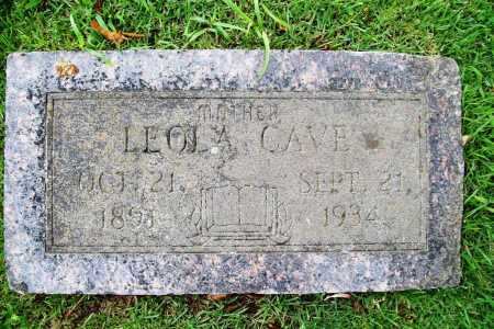 CAVE, LEOLA - Benton County, Arkansas | LEOLA CAVE - Arkansas Gravestone Photos