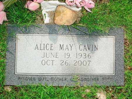 CAVIN, ALICE MAY - Benton County, Arkansas | ALICE MAY CAVIN - Arkansas Gravestone Photos