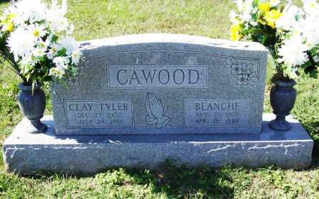 CAWOOD, BLANCHE - Benton County, Arkansas | BLANCHE CAWOOD - Arkansas Gravestone Photos