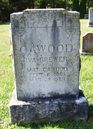 CAWOOD, IVA - Benton County, Arkansas | IVA CAWOOD - Arkansas Gravestone Photos