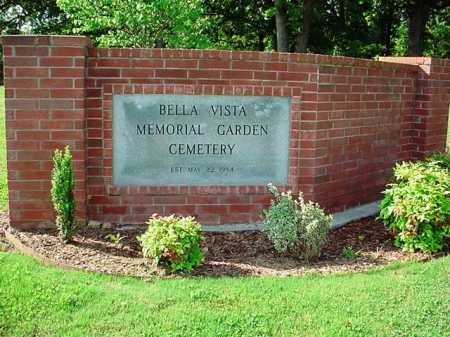 *BELLA VISTA MEMORIAL GARDEN,  - Benton County, Arkansas |  *BELLA VISTA MEMORIAL GARDEN - Arkansas Gravestone Photos