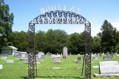 *DOUGLAS CEMETERY,  - Benton County, Arkansas |  *DOUGLAS CEMETERY - Arkansas Gravestone Photos