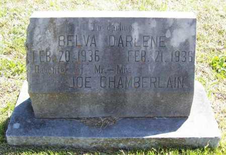 CHAMBERLAIN, BELVA DARLENE - Benton County, Arkansas | BELVA DARLENE CHAMBERLAIN - Arkansas Gravestone Photos