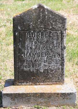 CHAMBERLAIN, BURREL - Benton County, Arkansas | BURREL CHAMBERLAIN - Arkansas Gravestone Photos