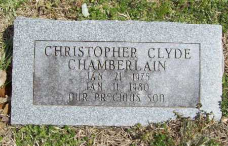 CHAMBERLAIN, CHRISTOPHER CLYDE - Benton County, Arkansas | CHRISTOPHER CLYDE CHAMBERLAIN - Arkansas Gravestone Photos