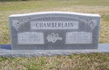 BOND CHAMBERLAIN, ALMA ETHEL - Benton County, Arkansas | ALMA ETHEL BOND CHAMBERLAIN - Arkansas Gravestone Photos