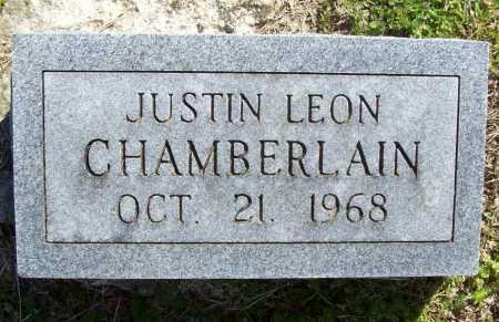 CHAMBERLAIN, JUSTIN LEON - Benton County, Arkansas | JUSTIN LEON CHAMBERLAIN - Arkansas Gravestone Photos