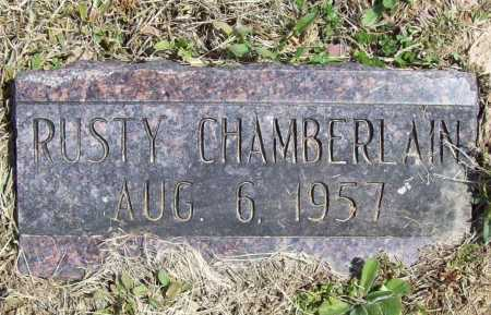 CHAMBERLAIN, RUSTY - Benton County, Arkansas | RUSTY CHAMBERLAIN - Arkansas Gravestone Photos
