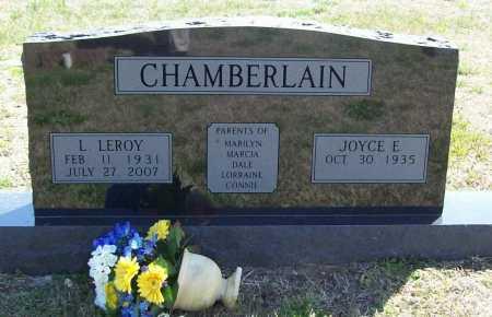 CHAMBERLAIN, LOREN 'LEROY' - Benton County, Arkansas | LOREN 'LEROY' CHAMBERLAIN - Arkansas Gravestone Photos