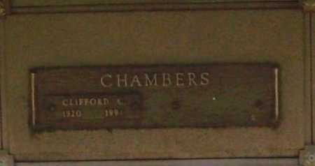CHAMBERS, CLIFFORD C. - Benton County, Arkansas   CLIFFORD C. CHAMBERS - Arkansas Gravestone Photos