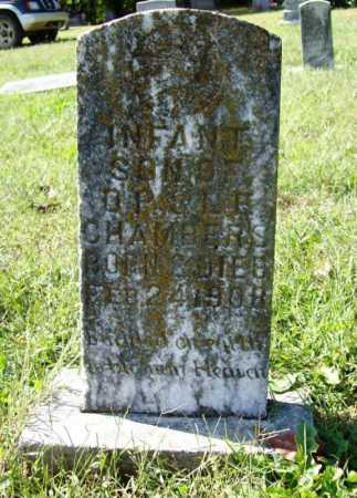 CHAMBERS, INFANT SON - Benton County, Arkansas | INFANT SON CHAMBERS - Arkansas Gravestone Photos