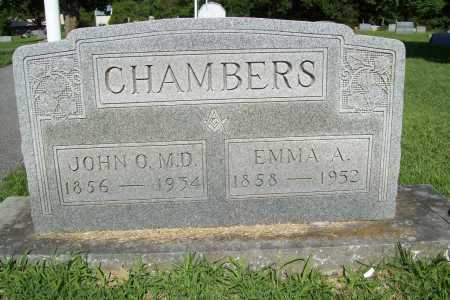 CHAMBERS, JOHN O., MD - Benton County, Arkansas | JOHN O., MD CHAMBERS - Arkansas Gravestone Photos