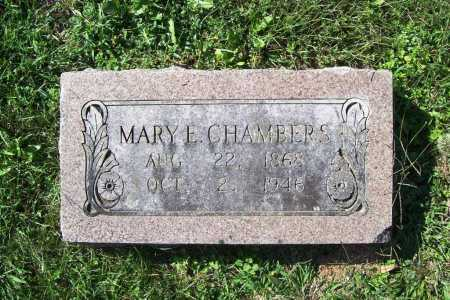 CHAMBERS, MARY E - Benton County, Arkansas | MARY E CHAMBERS - Arkansas Gravestone Photos