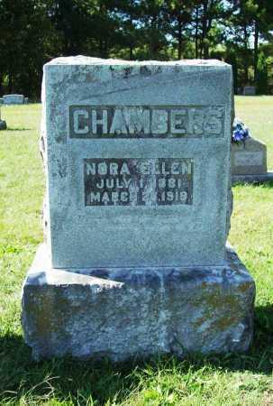 CHAMBERS, NORA ELLEN - Benton County, Arkansas | NORA ELLEN CHAMBERS - Arkansas Gravestone Photos