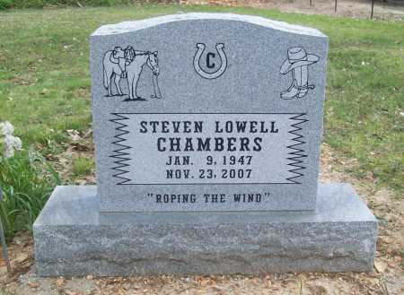 CHAMBERS, STEVEN LOWELL - Benton County, Arkansas | STEVEN LOWELL CHAMBERS - Arkansas Gravestone Photos