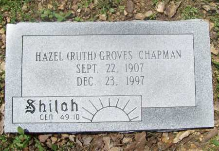 GROVES CHAPMAN, HAZEL RUTH - Benton County, Arkansas | HAZEL RUTH GROVES CHAPMAN - Arkansas Gravestone Photos