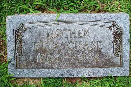 CHASE, ETTA - Benton County, Arkansas | ETTA CHASE - Arkansas Gravestone Photos