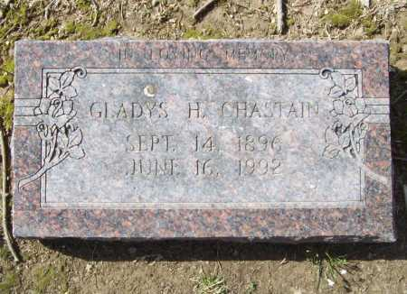 CHASTAIN, GLADYS H. - Benton County, Arkansas | GLADYS H. CHASTAIN - Arkansas Gravestone Photos