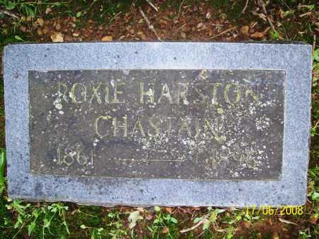 HARSTON CHASTAIN, ROXIE - Benton County, Arkansas | ROXIE HARSTON CHASTAIN - Arkansas Gravestone Photos