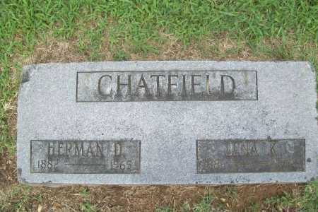 CHATFIELD, LENA K. - Benton County, Arkansas | LENA K. CHATFIELD - Arkansas Gravestone Photos