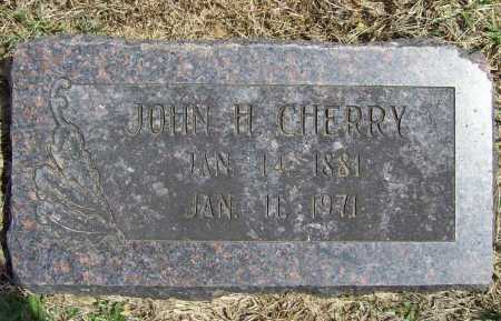 CHERRY, JOHN H. - Benton County, Arkansas | JOHN H. CHERRY - Arkansas Gravestone Photos